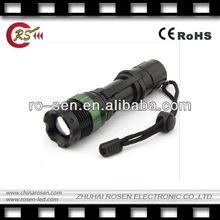 7W CREE XR-E Q5 LED Zoomable Zoom LED Flashlight Torch