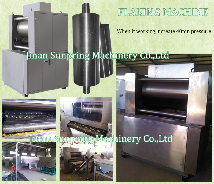 Automatic Corn Flakes Maker Machine