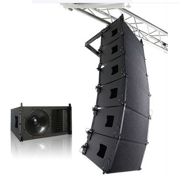 "Two way single 10"" indoor line array speakers VR-10"