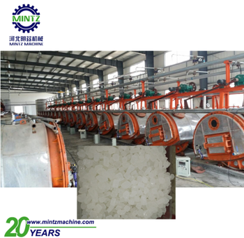 very popular and full-automatic white rock crystals sugar making machine