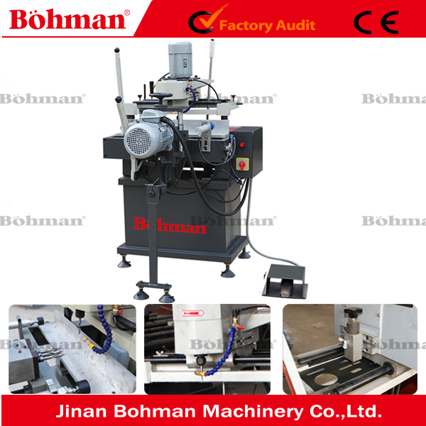 PVC Window Door Lock Hole Copy Routing Milling Machine