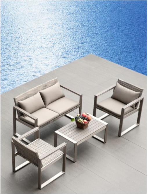 2015 China Cheap Outdoor garden lawn Furniture Aluminum