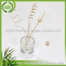 diffusion curly rattan reed sticks for fragrance