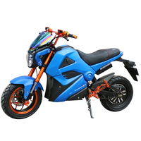 2000W Faster Super Power Sport Electric Motorcycle