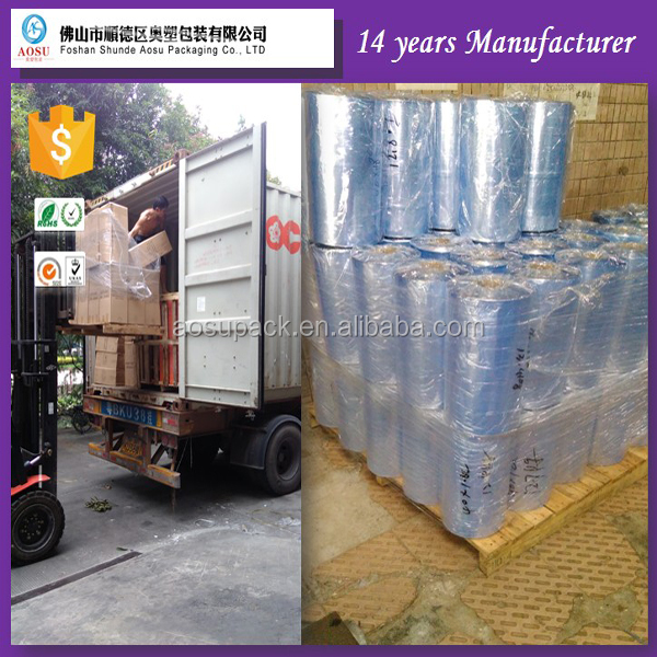 Customized colored Trade Assurance pvc shrink film for sleeve application