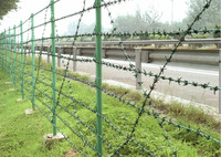 GM Anping factory low price hot dipped galvanized barbed wire for sale