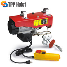 1000kg Portable Micro Wire Rope Motor Lift Electric Hoist PA1000 For Sale