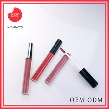 HOT sale makeup OEM makeup Waterproof and Matt lip gloss and cute