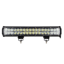 Dual Row Slide 17 inch 108W Semi Rally Offroad Driving LED Light Bars For Trucks Hanma Hummer