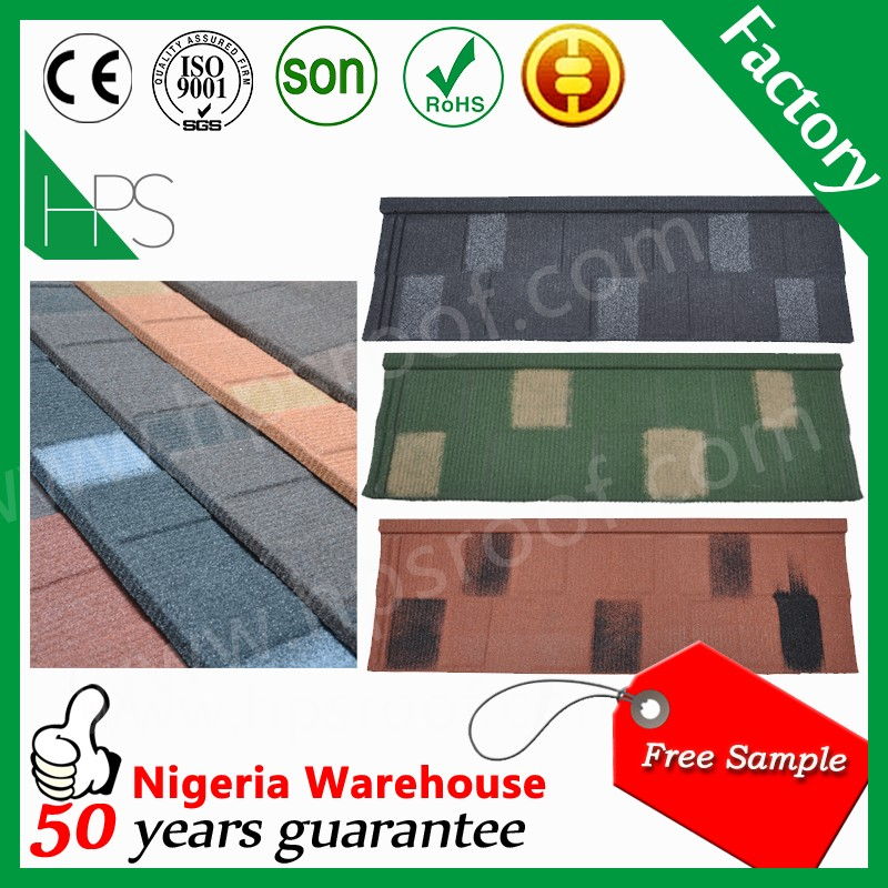 Africa hot sale flat roof shingle best price of roofing sheet in kerala