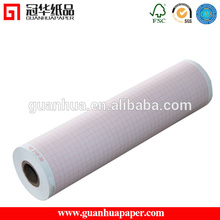 210mm 6 channel medical paper thermal ECG paper rolls