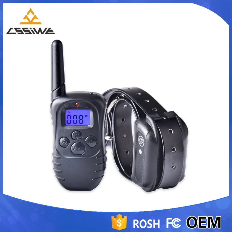 2017 Newest Manufacturer 300m Remote LED Dog Training Collars