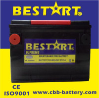 America standard 650cca BCI-78-MF vehicle battery starting car battery 70ah 12V