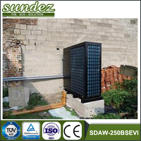 high end air source heat pump heat pumps for pools