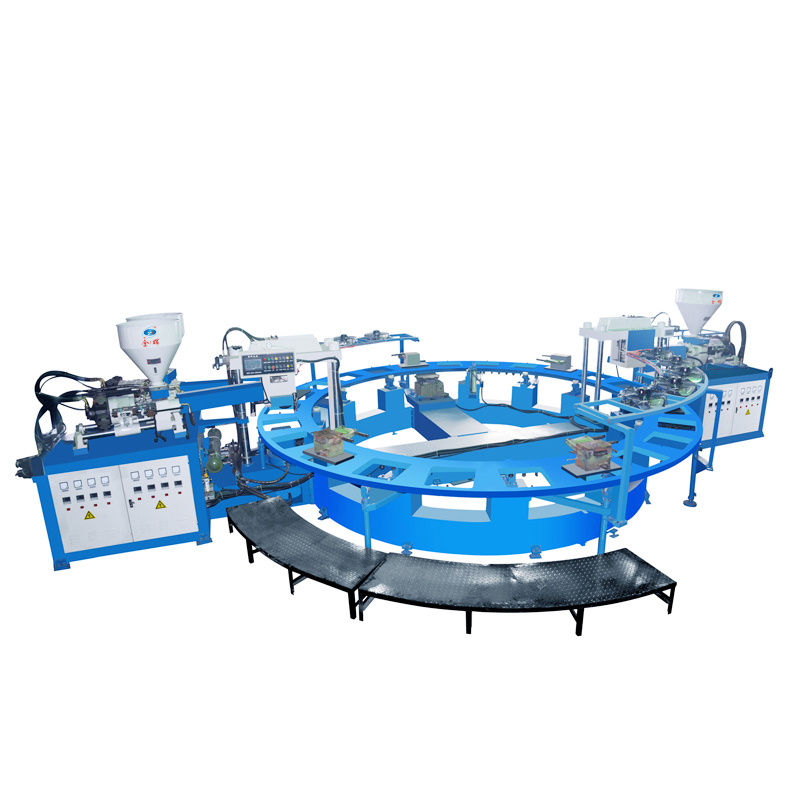 2/3 colors PVC jelly shoes making machine/injection