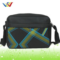 wholesale european mobile phone canvas shoulder bag for men