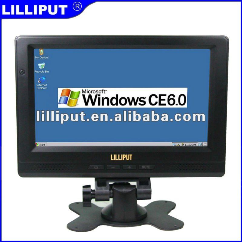 Lilliput 8 inch Desktop Touch POS System Terminal with Windows CE 6.0 PC-865