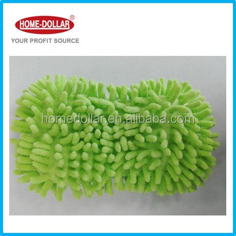 2017 hot best quality Microfiber Chenille Wash Noodle Car Sponge