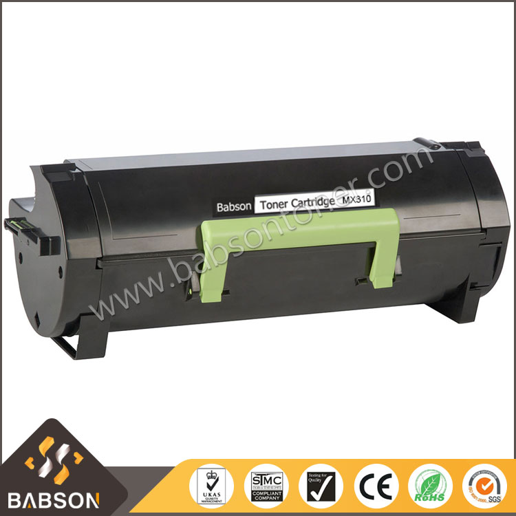 60F2H00 Compatible Black Toner Cartridge MX310 for lexmarks MX310/410dn/510/610dw