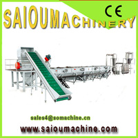 PP PE film plastic grinder for recycling line 300-1000kg/hour SAIOU