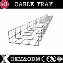 SS electrical wire mesh cable tray hangers