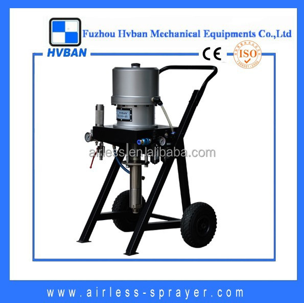 6L/M pneumatic/air-operated airless paint sprayer