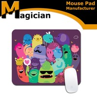 Promotional full color printing rubber mouse pad