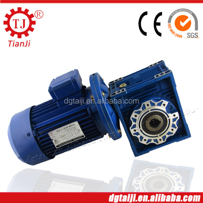 Factory directly supply elektro motor with gearbox