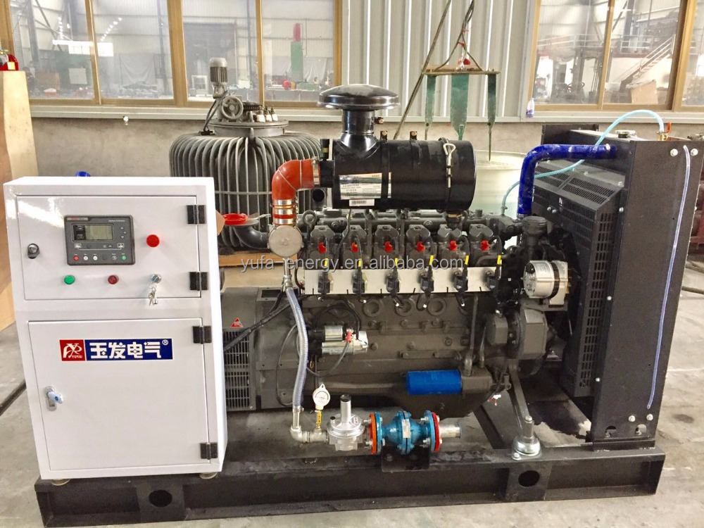 YUFA Power solutions Euopean Gas engine for 80kw(100kva) natural gas generator set