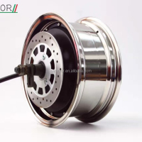 QS Motor Galvanized Separated Wheel 12*5.0 1500W 260 (30H) BLDC Normal/V1 Type Hub Motor for E-Scooter