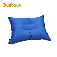 PVC Fabric Portable Inflatable Camping Pillow