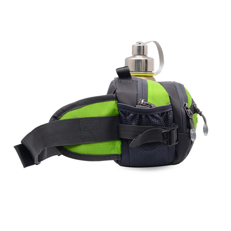 High quality fashion travel outdoor sports waist bag & gym waist pack with many pockets multi-functions