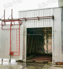 50 cubic meter high efficiency lumber drying kiln wood drying chamber