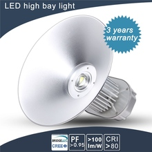 low price long lifespan dimmable led high bay 100w