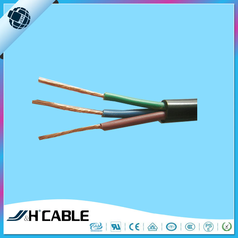 SJTOW Manifacturer Supply Power Cords Rubber Cable