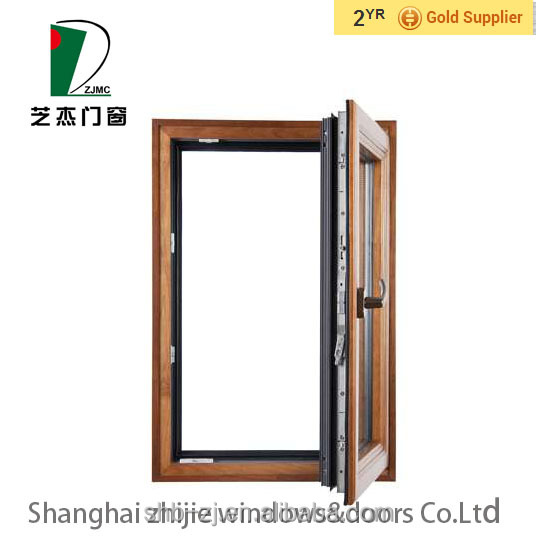 China High Quality Aluminum Window Door Aluminum Composite Wood Heat Insulation Waterproof Window