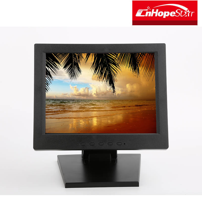 Hot selling 12 inch food delivery touch screen monitor