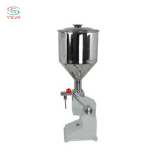 sachet manual peanut butter / cream filling machine for small business
