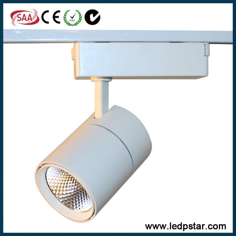 COB LED track light 3000k 4000k 5000k 6500K 10 watt led track spotlamp
