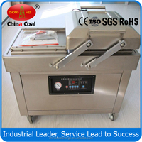 DZ400 DZ 500 double chamber vacuum packing machine for cheap sale