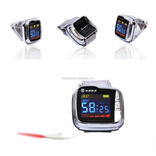 portable medical device Bio Quantum Laser Therapy Wrist Watch for diabetes treatment
