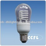 120/230V 6W E27 CCFL spiral energy saving bulbs