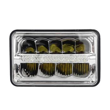 4x6 5x7 Square sealed beam driving light high low beam 45W car lights LED auto headlight for truck