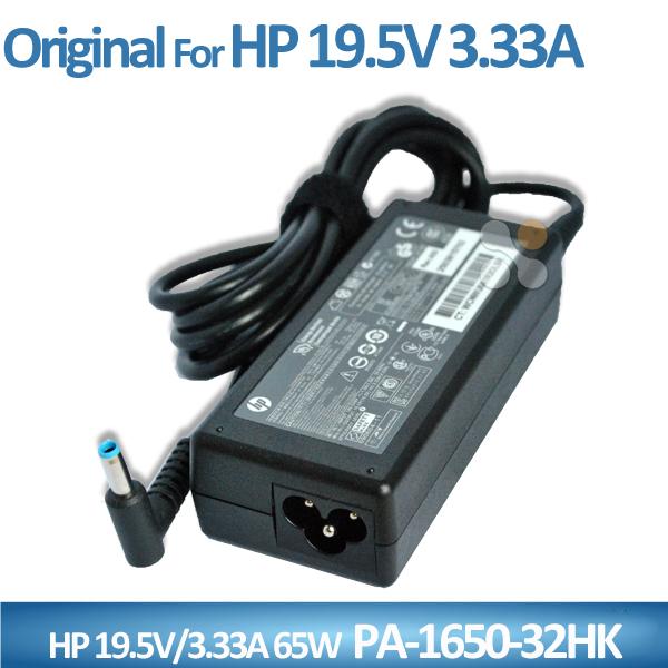Original 65w ac to dc adapter for HP 19.5V 3.33A PPP009C 4.5*3.0mm power supply in China