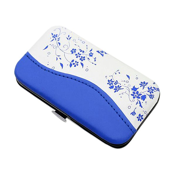 2016 7 Sets of blue and white porcelain patterns Simple Promotional Manicure Set