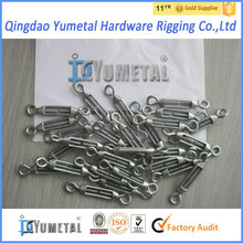 Hot Dip Galvanized M4 Small Size Turnbuckle