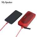 2018 new arrival cell phone mobile smart portable power bank bluetooth speaker