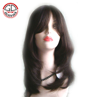 Hands Tied Of Best Quality Full Lace 100% Mongolian Hair Jewish Wig