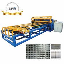 APM-PW-1 Welded Wire Mesh Panel Making Machine and Miller Mig Welder