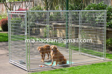 galvanized iron wire welded mesh metal fencing gates outdoor kennel large dog enclosure fence panels